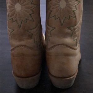 8fb84c4a769 Leather Sunflower Cowboy Boots